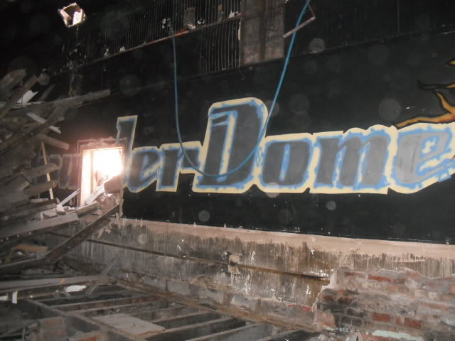 thunder dome manchester club venue graffiti united kingdom